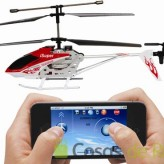 Helicóptero a radiocontrol para iPhone, iPod y iPad