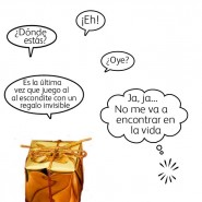 Humor de regalo: el escondite invisible