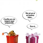 Humor de regalo: detalle explosivo
