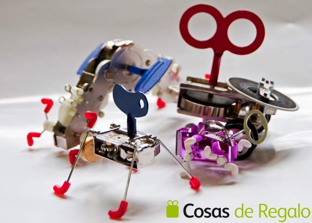 Robot de cuerda kikkerland