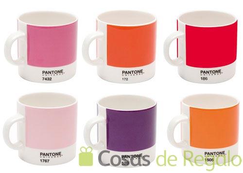 Tazas Pantone, llena de color tu hora del café