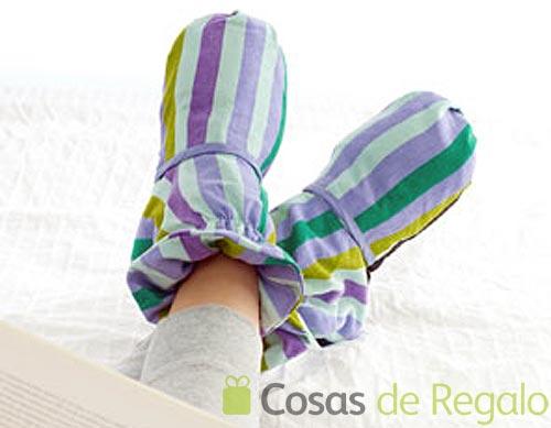 Zapatillas Aromarelax, calienta y relaja tus pies cansados