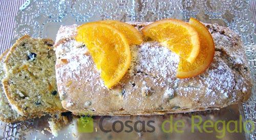 Receta de Cake de naranja y nueces
