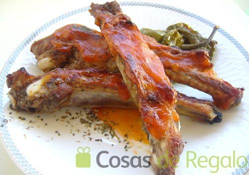 Receta de costillas de cerdo con salsa agridulce