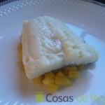 06- Montamos los lomos de bacalao con la manzana salteada
