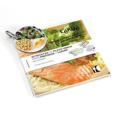 Libro de 20 recetas de plato único para preparar y llevar