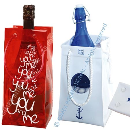 bolsa enfriadora de botellas ice-bag