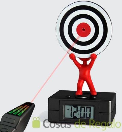 Reloj despertador Target, ideal para los más perezosos