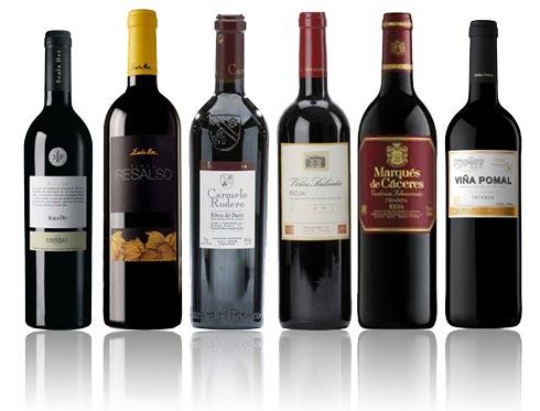 Comprar surtido de vinos tintos