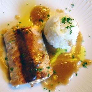 Receta de Lomo de salmón con salsa de Módena