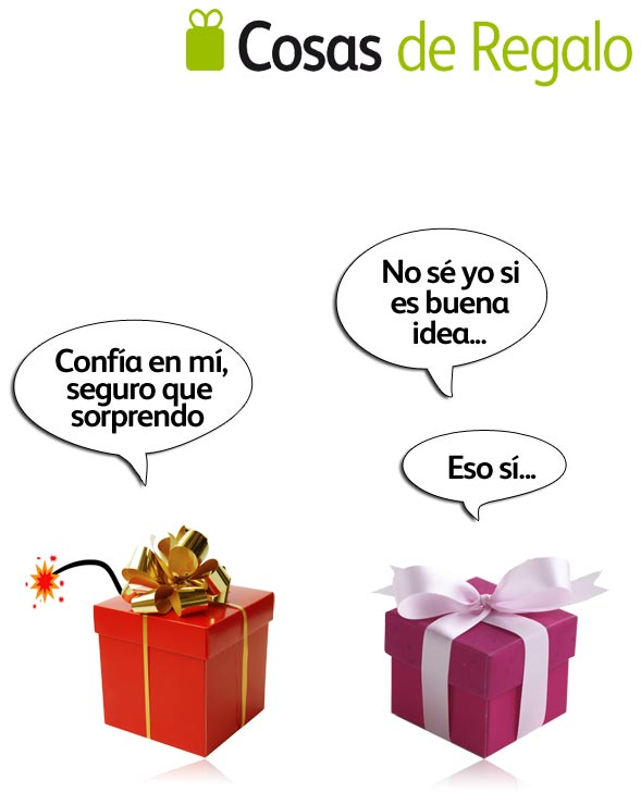 Humor de regalo: detalle explosivo