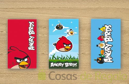 Toallas de playa de Angry Birds, mas diversión en la arena