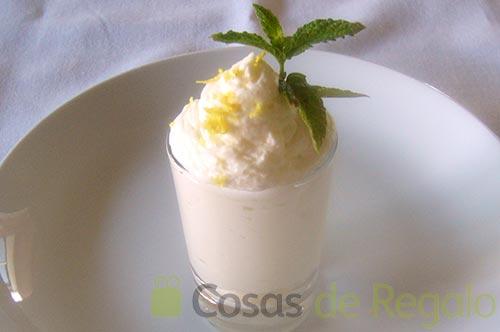 Receta de Mousse de limón