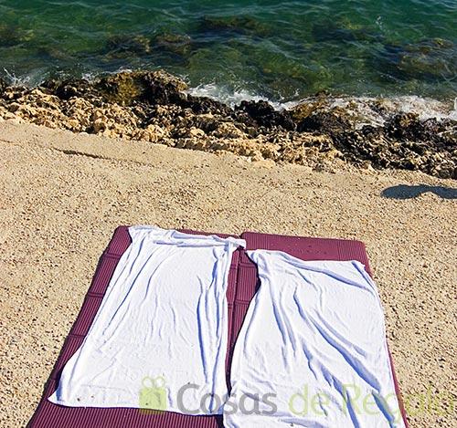 Toallas de playa para no llenarse de arena