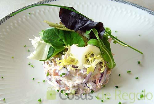 C mo cocinar una refrescante ensalada de col for Como cocinar col lombarda
