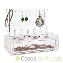 Organizador de joyas acrílico