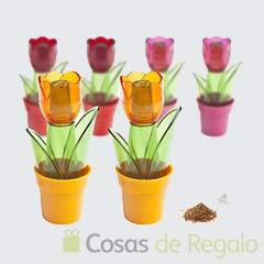 Set sal y pimienta Tulip acrílico