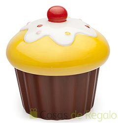 Azucarero Yummy con forma de cupcake