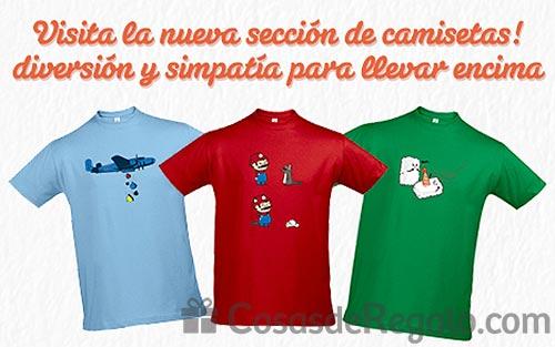 Camisetas originales y divertidas con descuento por lanzamiento