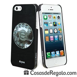 Funda para iPhone 5 con teléfono retro