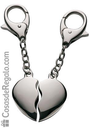 Llavero corazón para San Valentín