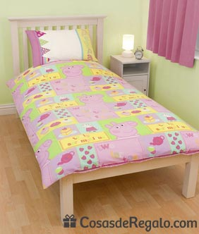 Ropa de cama de Peppa Pig