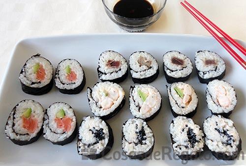 Receta de Sushi Makis
