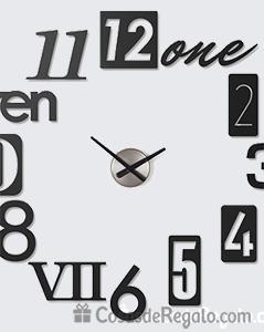 Relojes adhesivos de pared nuevos dise os de umbra - Reloj de pared adhesivo ikea ...