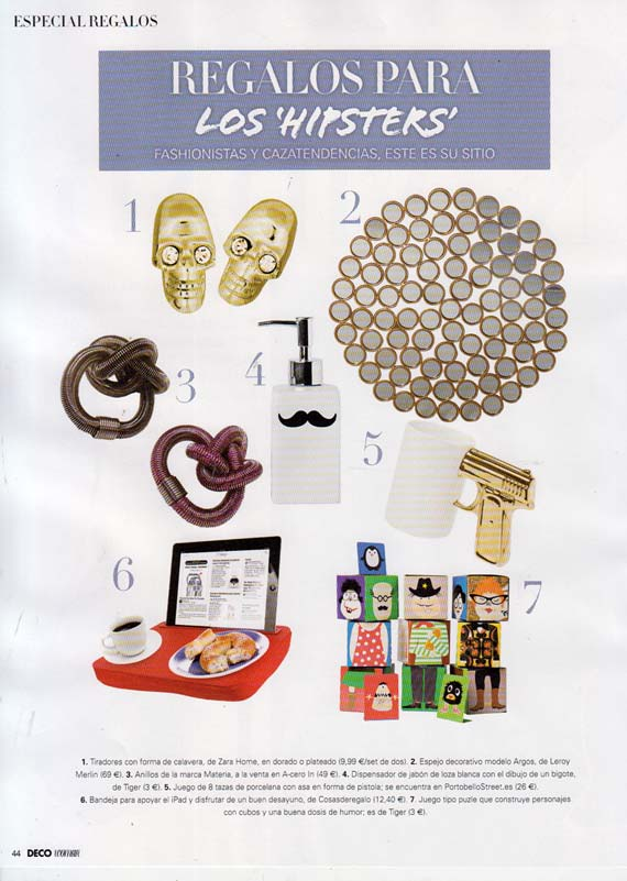 Revista Deco Shopping de Woman (Diciembre 2013)