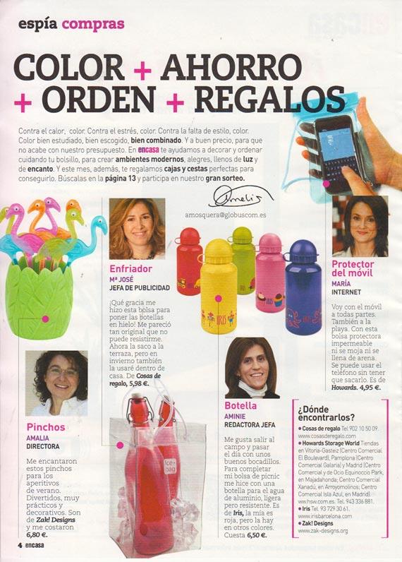 CosasdeRegalo.com en la revista ENCASA
