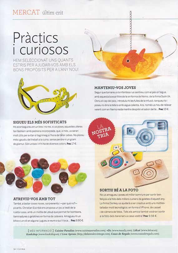Revista Cuina número 155 (Diciembre 2013)