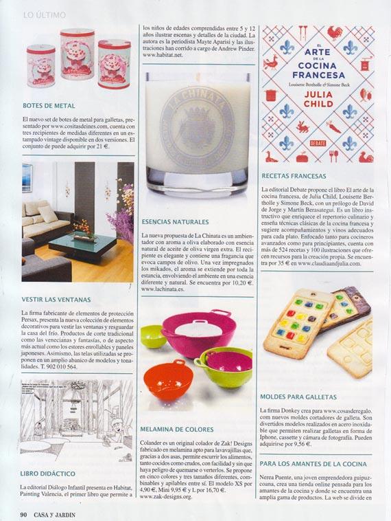 Revista Casa y Jardín número 431 (enero 2014)