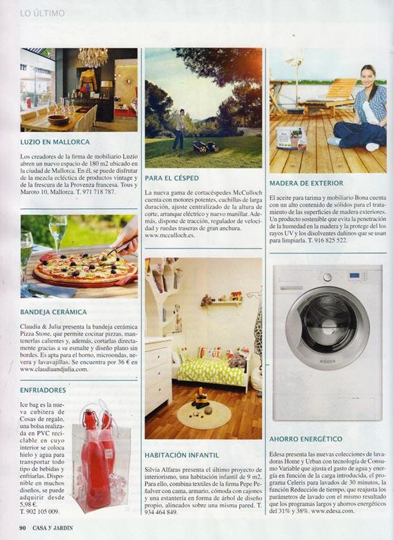 Revista Casa y jardín número 427 (octubre 2013)