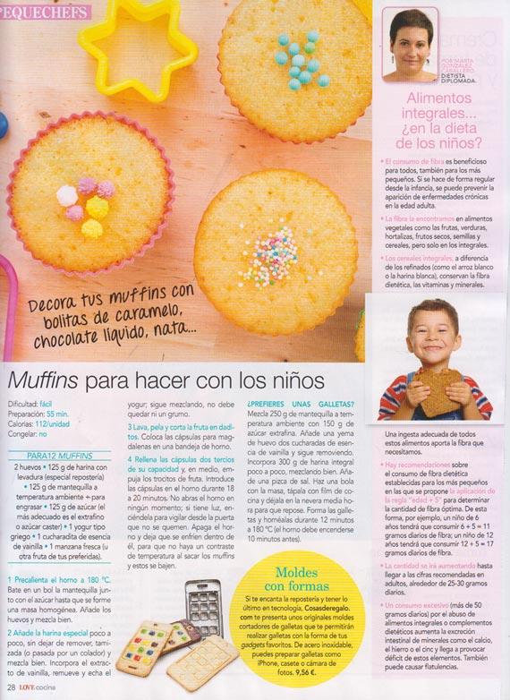 Revista Love cocina número 16 (enero 2014)