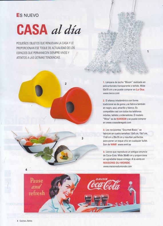 Revista Cocinas y baños número 273 (enero 2014)
