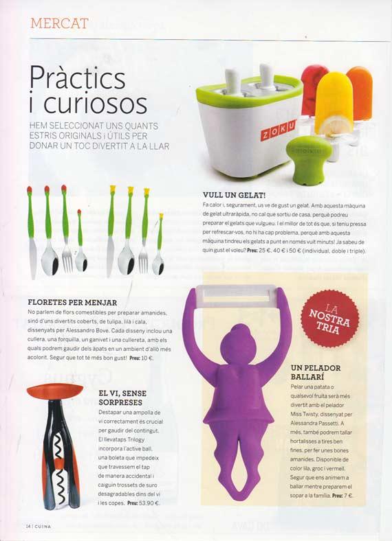 CosasdeRegalo.com en la revista Cuina
