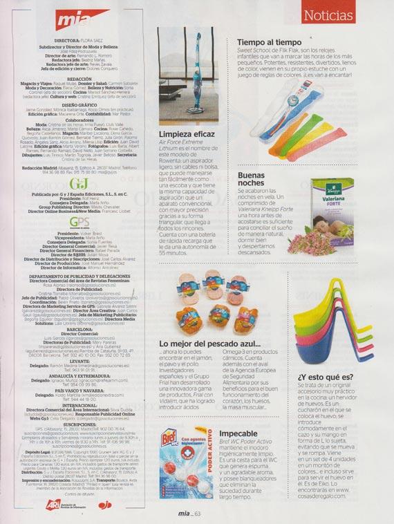 Revista Mia número 1412 (cuarta semana de octubre)