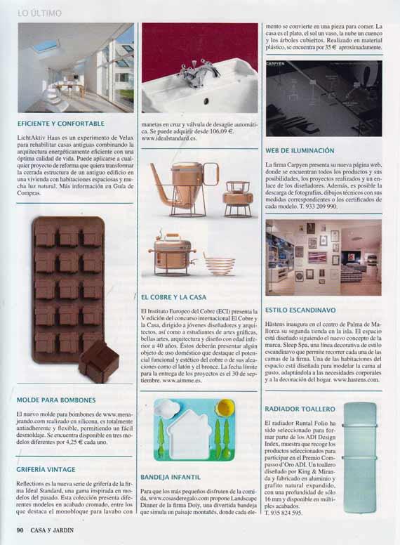 Revista Casa y jardín número 432