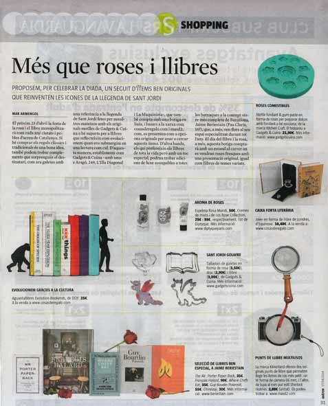 Què Fem de La Vanguardia (17 abril 2014)