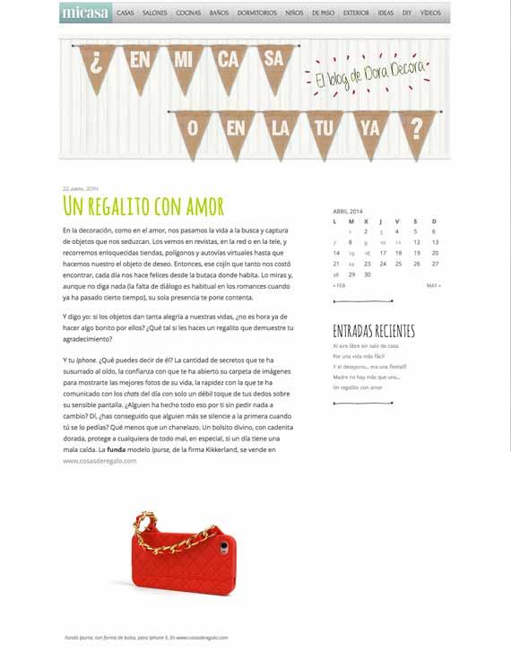 Blog de la Revista Mi Casa