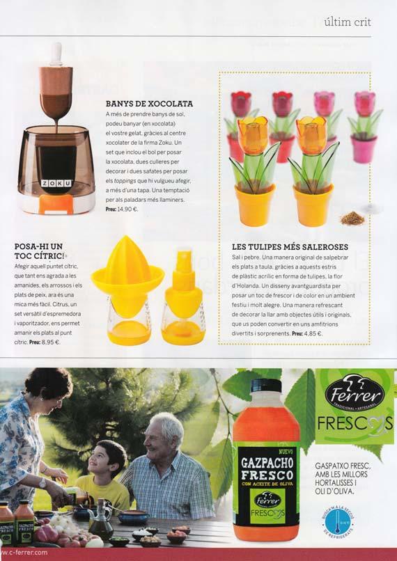 Revista Cuina nº 162 (julio 2014)