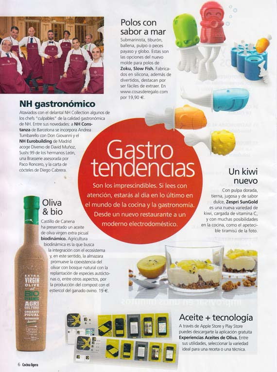 Revista Cocina Ligera nº179 (julio 2014)
