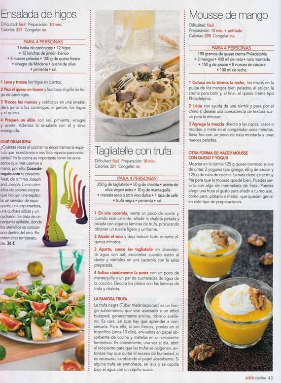 Revista Love Cocina nº 21 (julio 2014)