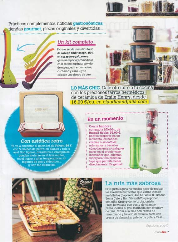 Revista Cocina diez número 8