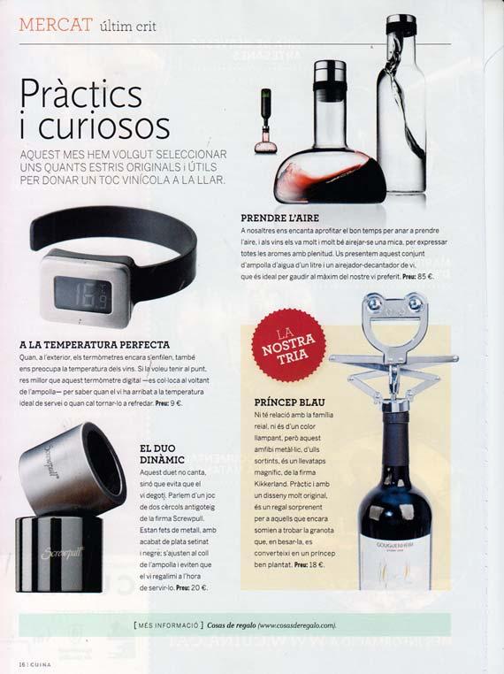 Revista Cuina septiembre de 2013