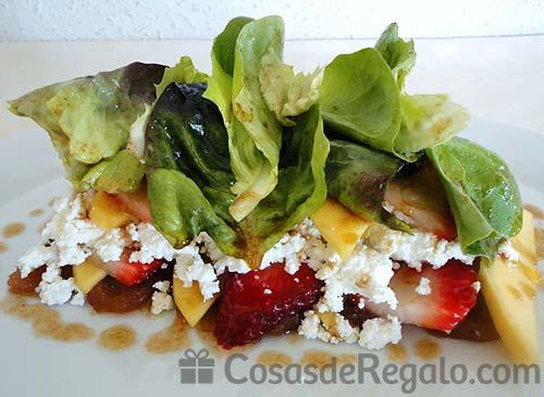 Ensalada de contrastes una combinaci n con muy pocas calor as - Ensaladas con pocas calorias ...