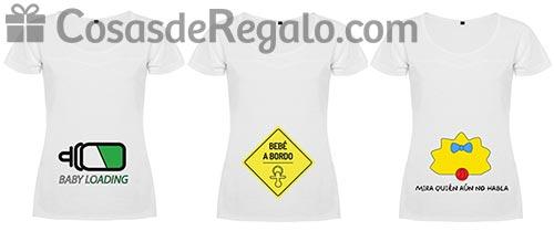 eabe67813 Regalos para futuras mamás  camisetas para embarazadas muy divertidas