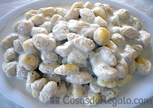 Receta de Ñoquis o gnocchis de patata