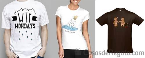 Contra la monotonía de la rutina... ¡Camisetas frikis!