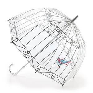 Paraguas Lulu Guiness de Fulton: adiós a la lluvia con estilo